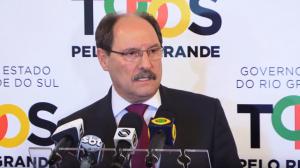 Governador Sartoni anunciou medidas e decretou situação de calamidade financeira na administração pública estadual. Foto: Divulgação