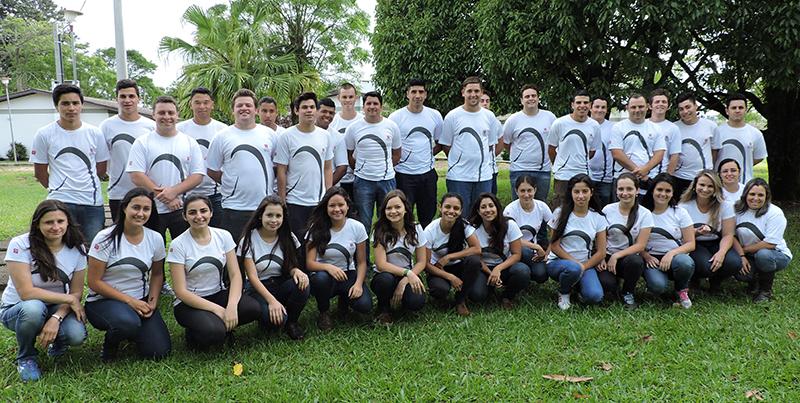 Alunos do curso técnico em Agropecuária deste ano. Foto: Divulgação