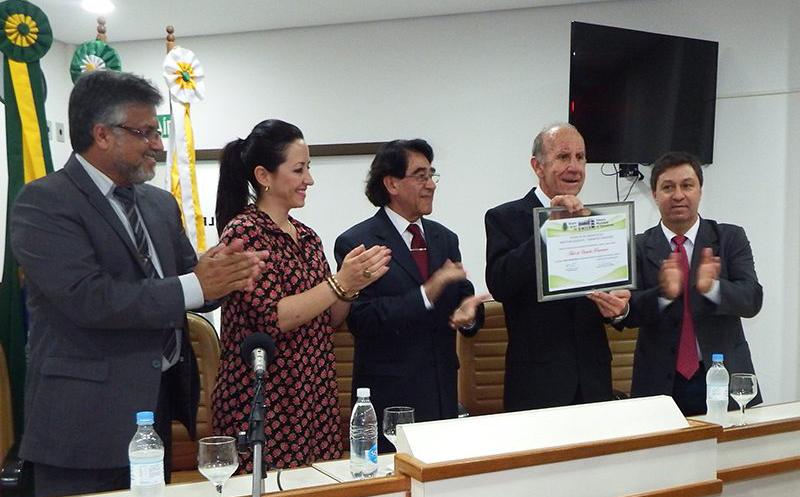 Em dezembro de 2016, Orlando Ramos recebeu o título de Cidadão Rosariense pelos relevantes serviços prestados